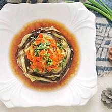 #我们约饭吧#低脂美味的凉拌手撕茄条