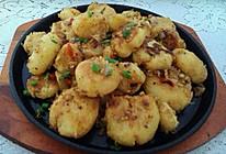 椒盐土豆饼的做法