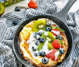 荷兰松饼#快手又营养,我家的冬日必备菜品#的做法