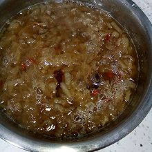 红枣梨子银耳汤
