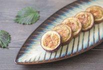 茄子虾皮面饼的做法