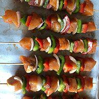 烤鸡肉串的做法图解8