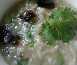 早餐粥之虾米皮蛋粥的做法