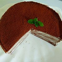 巧克力乳酪法式千层蛋糕的做法图解11