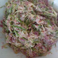 脆皮小馅饼  大葱猪肉馅,白菜胡萝卜猪肉馅,西葫芦猪肉馅的做法图解6