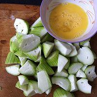 丝瓜蛋汤的做法图解3
