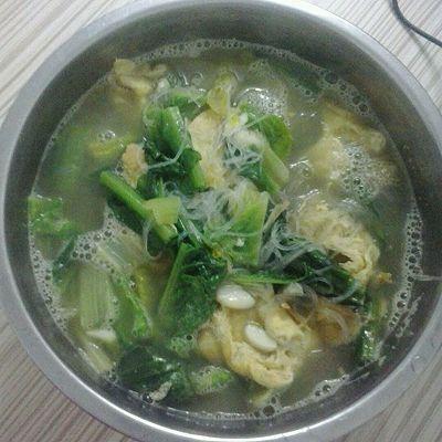 莴笋叶鸡蛋汤