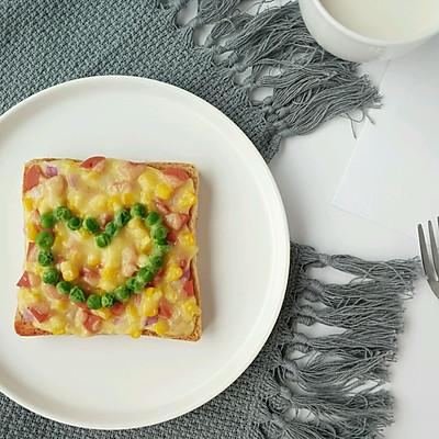 快手早餐-吐司披萨
