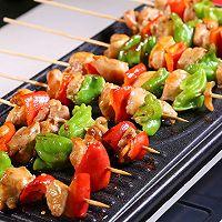 时蔬鸡肉烤串