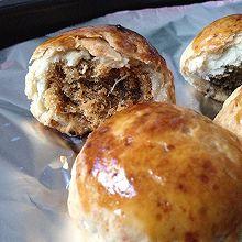 金丝肉松饼