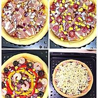 培根虾仁披萨的做法图解5