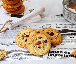 #秋天怎么吃#水果麦片饼干的做法
