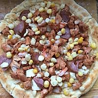 奥尔良鸡肉披萨非烤箱版的做法图解5