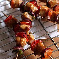 【彩椒鸡肉烤串】的做法图解7