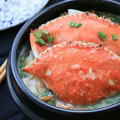 土豆泥烩螃蟹