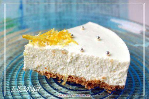 柠檬芝士蛋糕的做法