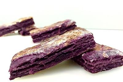 紫薯千层饼 —— 素食·一人食