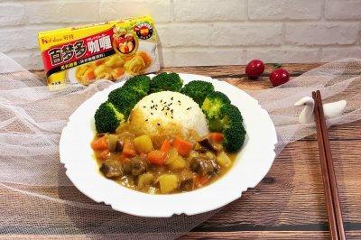 咖喱牛肉饭#百梦多圆梦季#