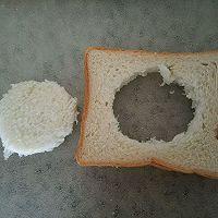微波炉版无油三明治的做法图解3