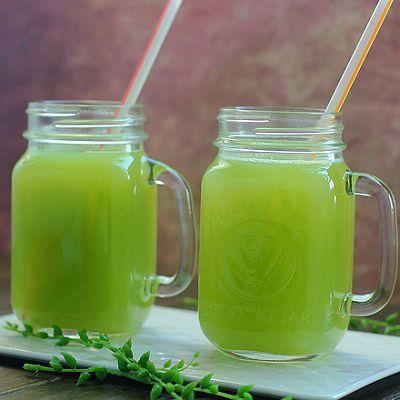 雪梨黄瓜汁