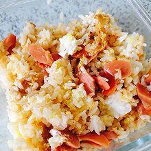 泡菜拌饭(微波炉版)