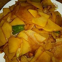 肉炒土豆片