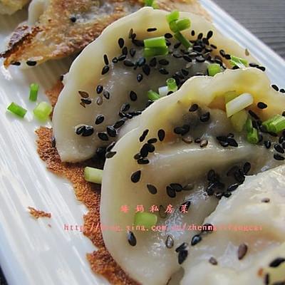 脆皮芝麻煎饺