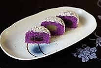 紫薯芝麻球的做法