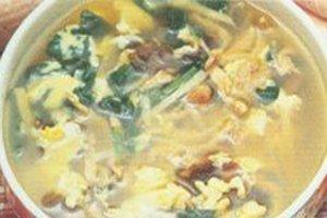 木耳肉丝蛋汤