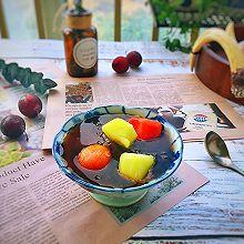 #炎夏消暑就吃「它」#皂角米水果冰盏