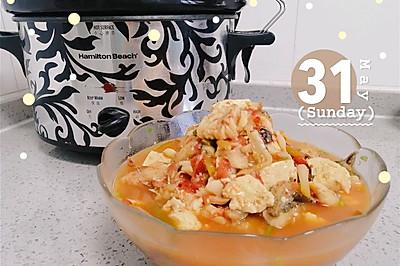 番茄鳕鱼豆腐汤
