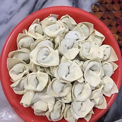 葱香肉饺子