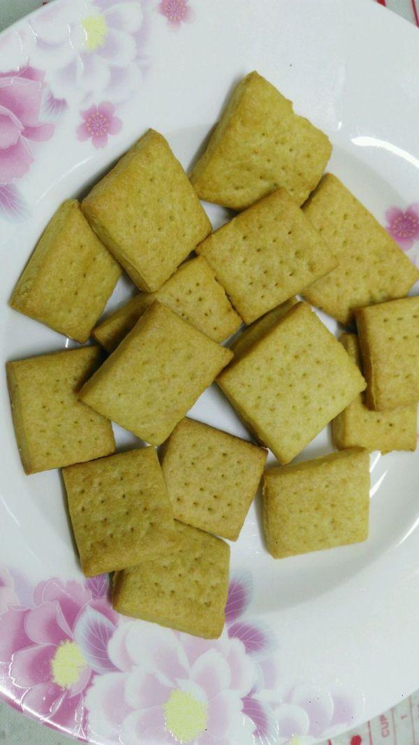低油低糖奶盐苏打饼干的做法