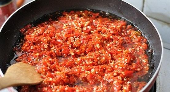 辣椒酱豆的制作方法