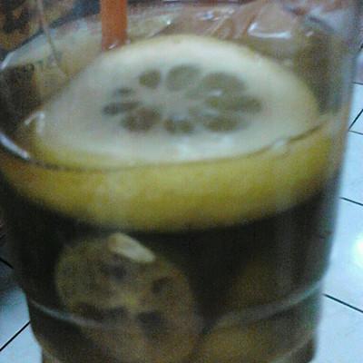 冰镇柠檬茶