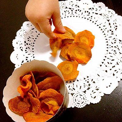 胡萝卜脆片(宝宝健康零食)