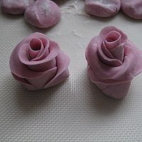 紫薯玫瑰花的做法图解11