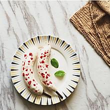 脆皮草莓香蕉雪糕#膳魔师夏日魔法甜品#