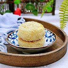 #年味十足的中式面点#紫薯发面馅饼