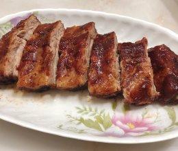 柠香烤猪肋排的做法