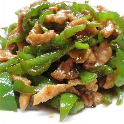 青椒肉丝(简单版)