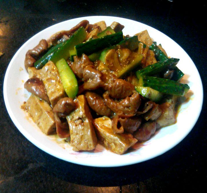 肥肠烧豆腐的做法_【图解】肥肠烧豆腐怎么做如何做