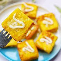 #花10分钟,做一道菜!#好吃到爆的港式西多士的做法图解12
