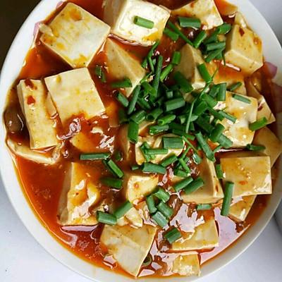 红油闷豆腐
