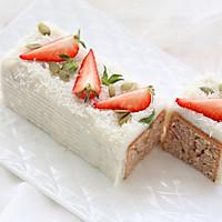 """健康快手的--草莓""""奶油""""蛋糕的做法图解13"""