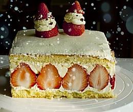 法式草莓奶油蛋糕的做法