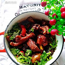 #一道菜表白豆果美食#烧鸡公
