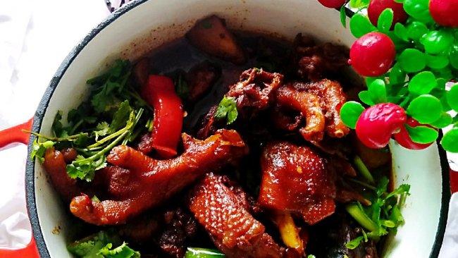 #一道菜表白豆果美食#烧鸡公的做法
