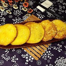 黄金红豆沙番薯饼#回到家香味(粤)#