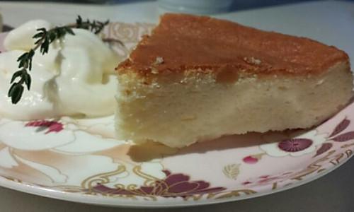 无负担酸奶蛋糕的做法